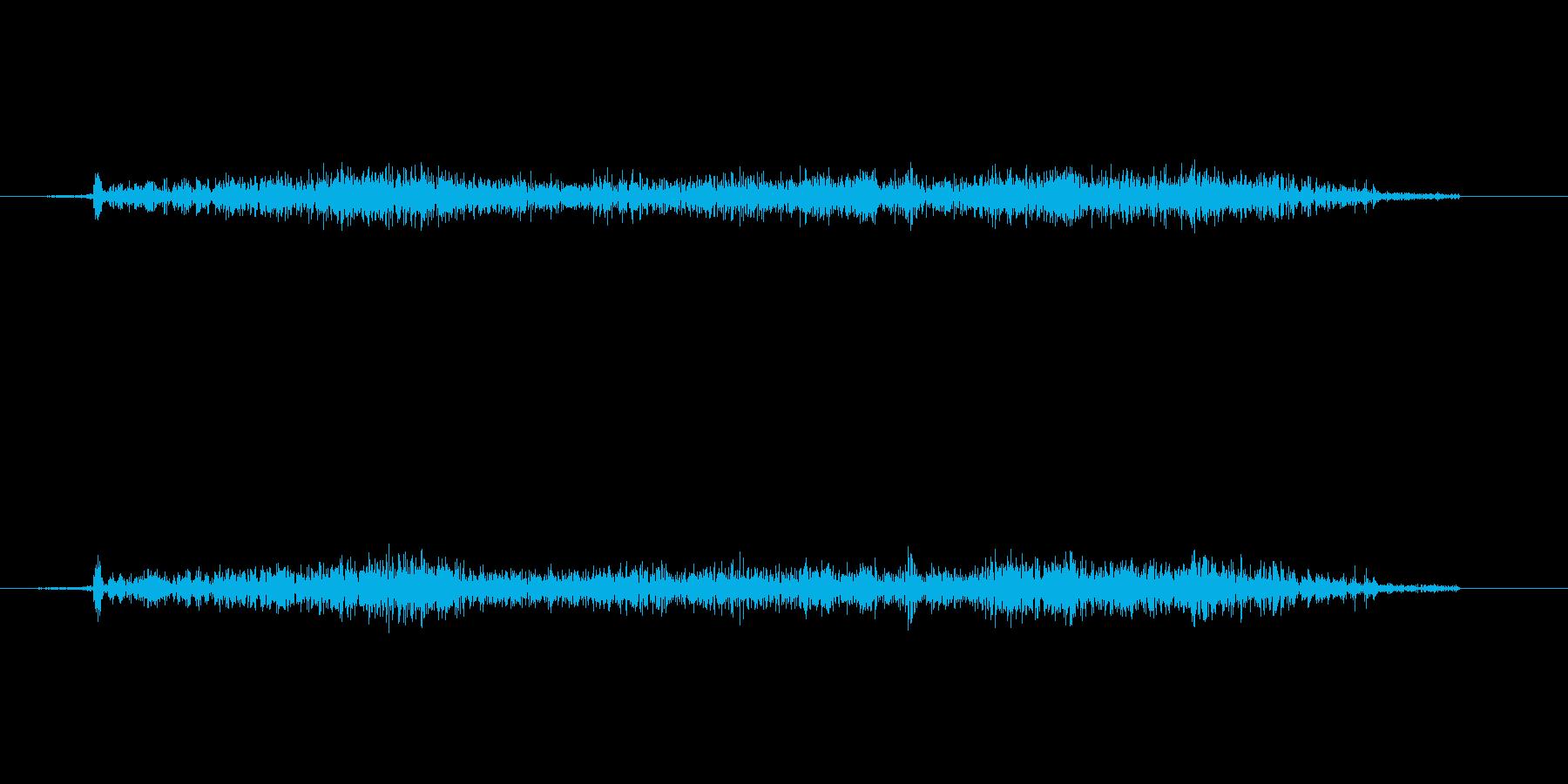 ツィィの再生済みの波形