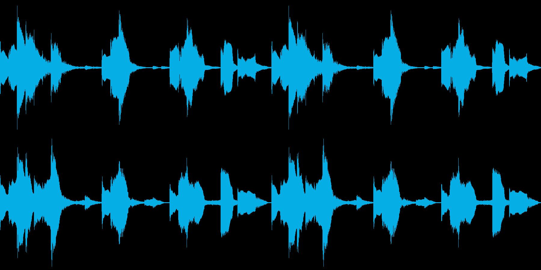 Tech テクノフレーズ 1 音楽制作用の再生済みの波形