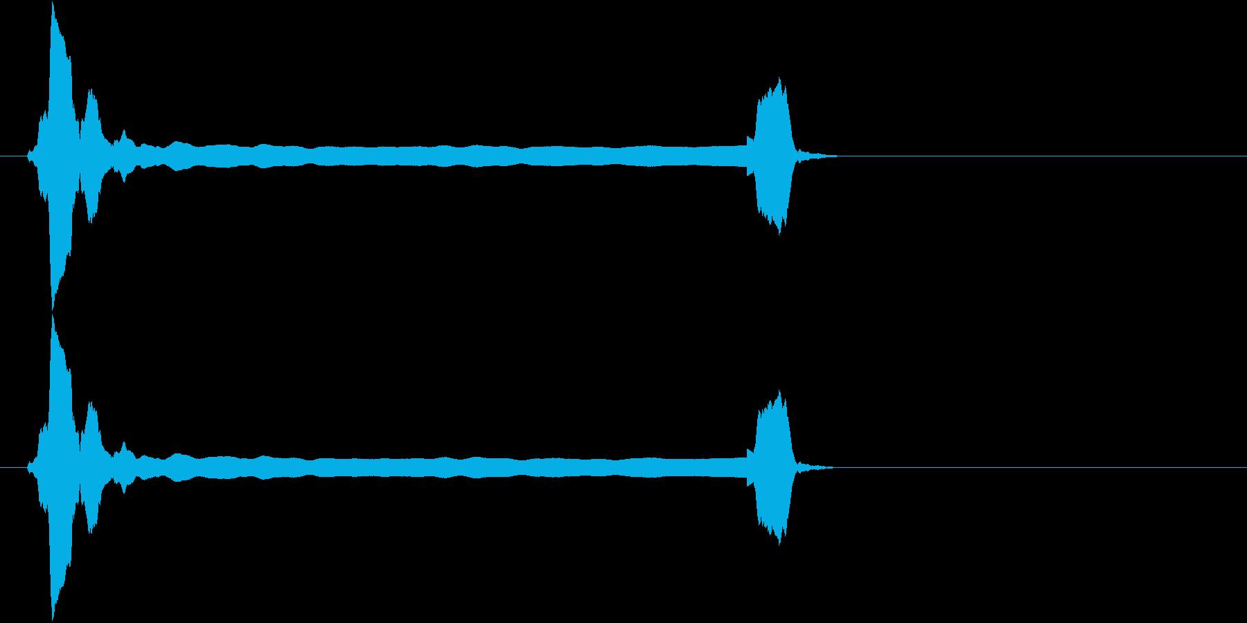 音侍SE「ピィーピッ」能管ひしぎ長さ普通の再生済みの波形