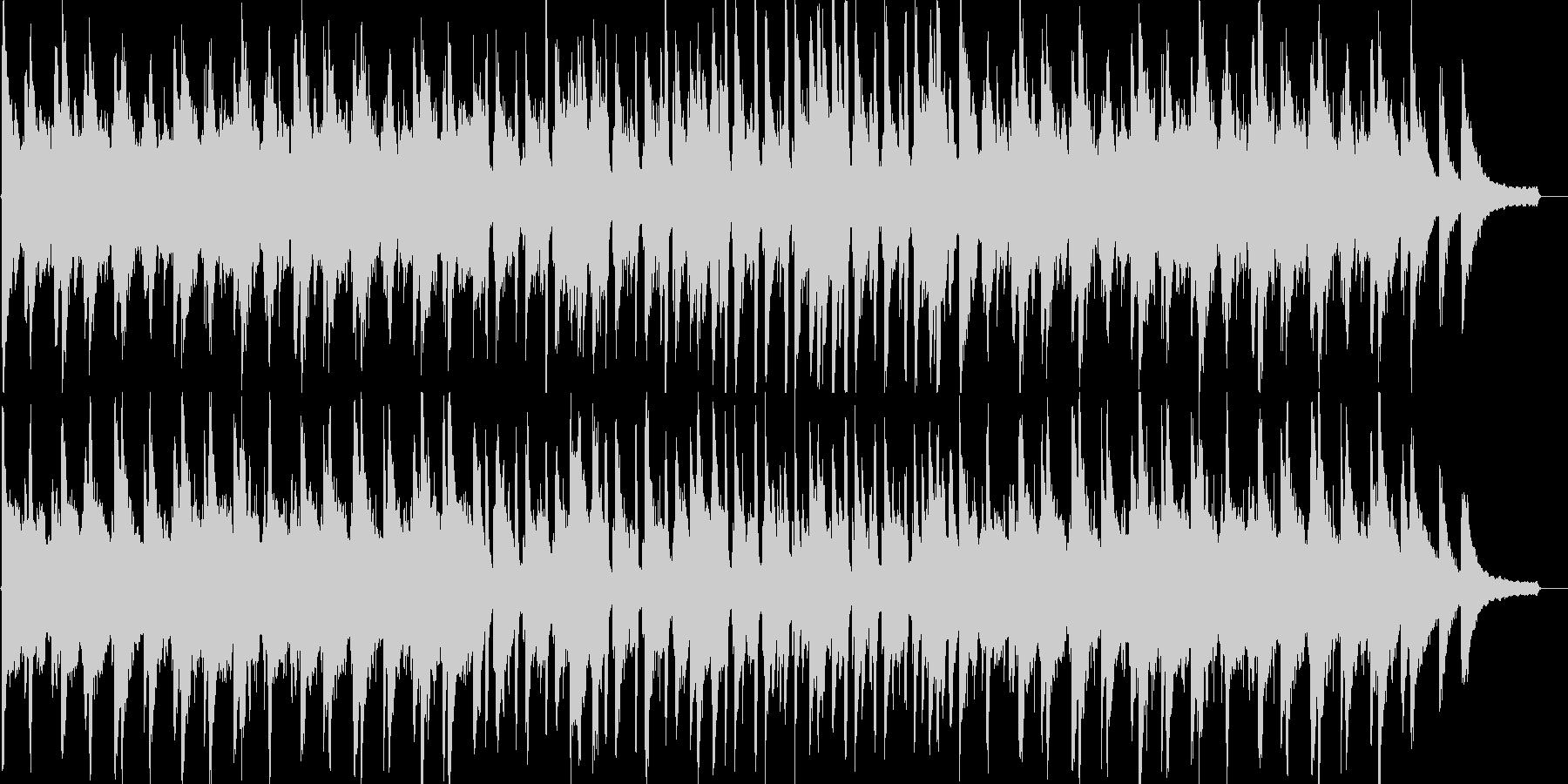 優しい・感動・温かい・リラックス・ピアノの未再生の波形