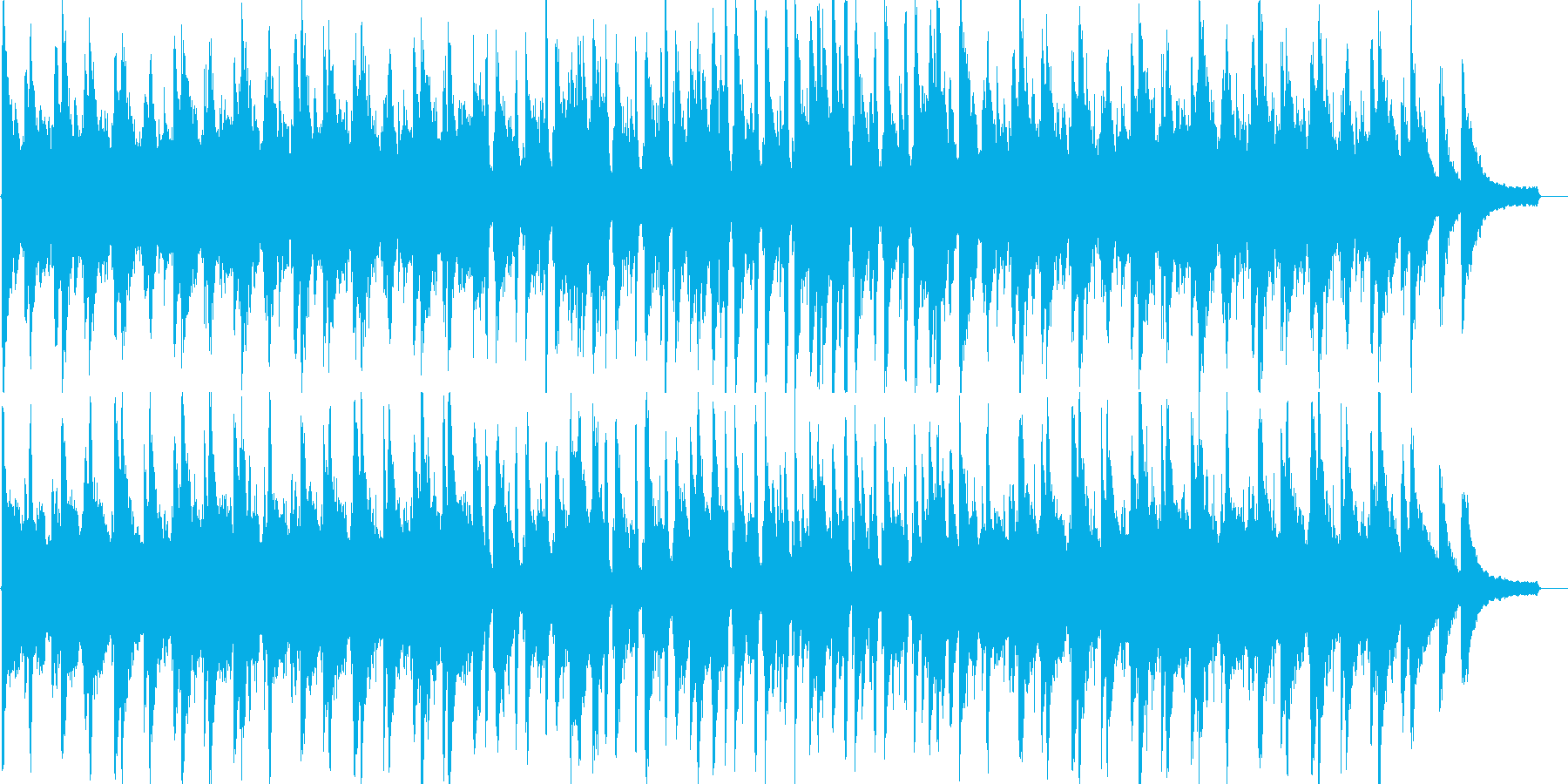 優しい・感動・温かい・リラックス・ピアノの再生済みの波形