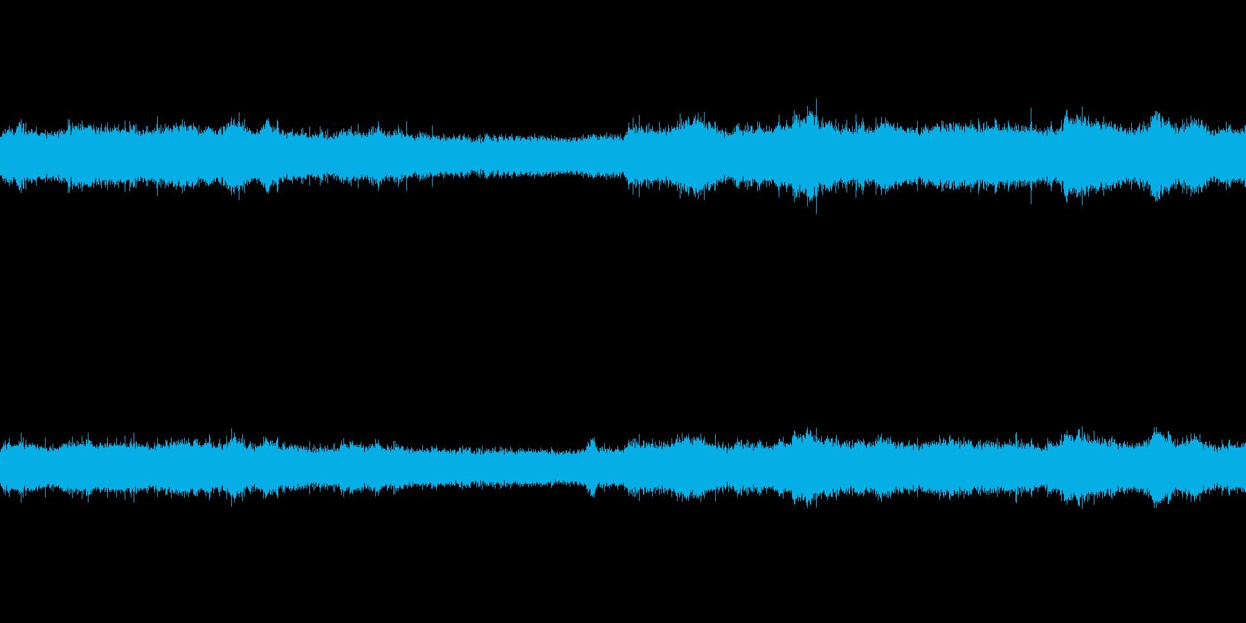 夏 環境音の再生済みの波形