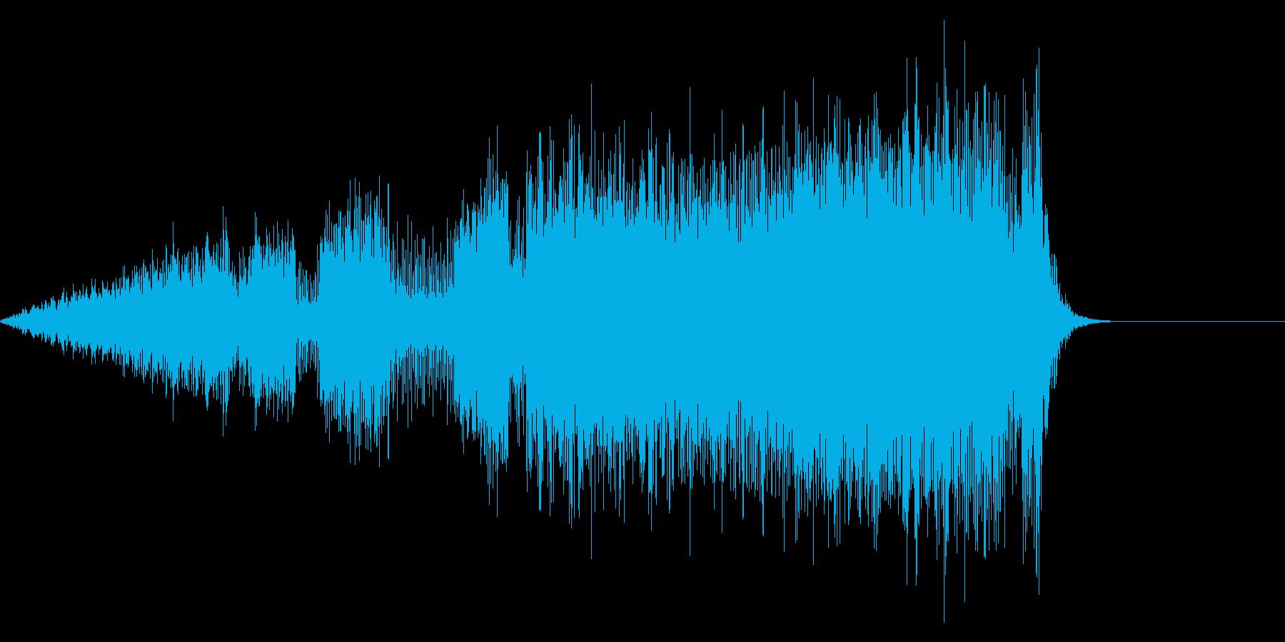 ジー、ジーの再生済みの波形