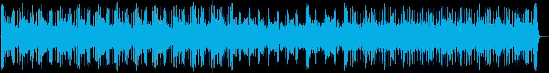 宇宙感とシリアスなシンセサイザーサウンドの再生済みの波形