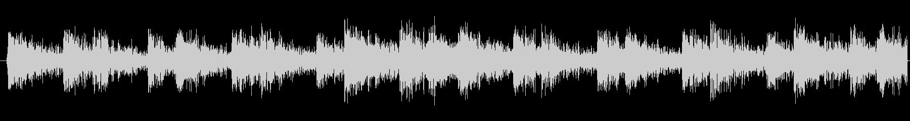 ループ可能な太鼓リズムトラックの未再生の波形