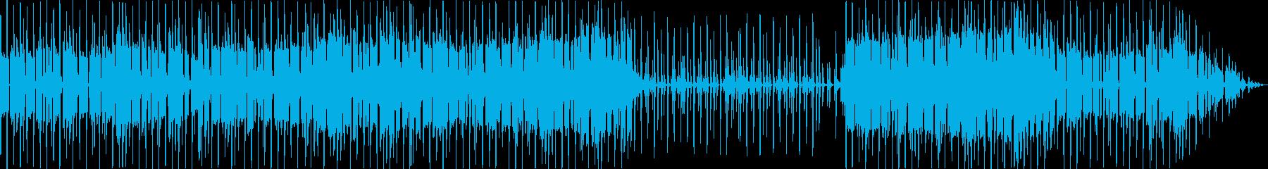 エレクトロニカで怪しげなBGMの再生済みの波形