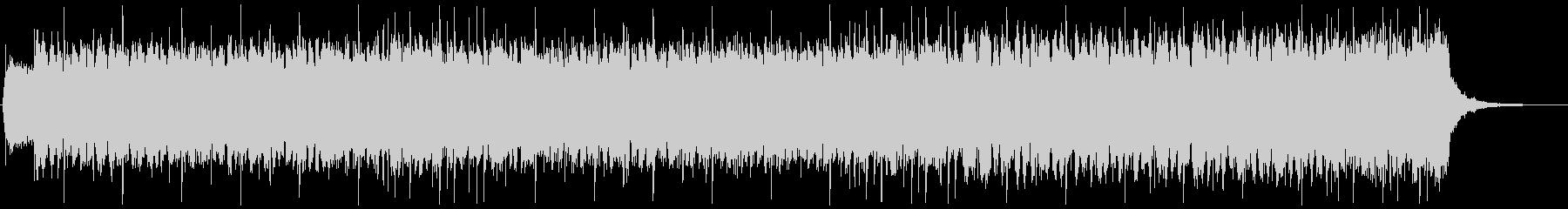 闇属性ゴシック・ダーク・ロック系BGMの未再生の波形