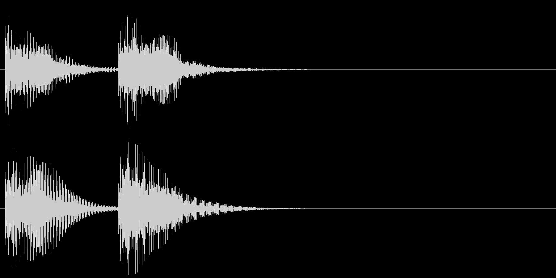 汎用03 チャンチャン(コント落ち)の未再生の波形