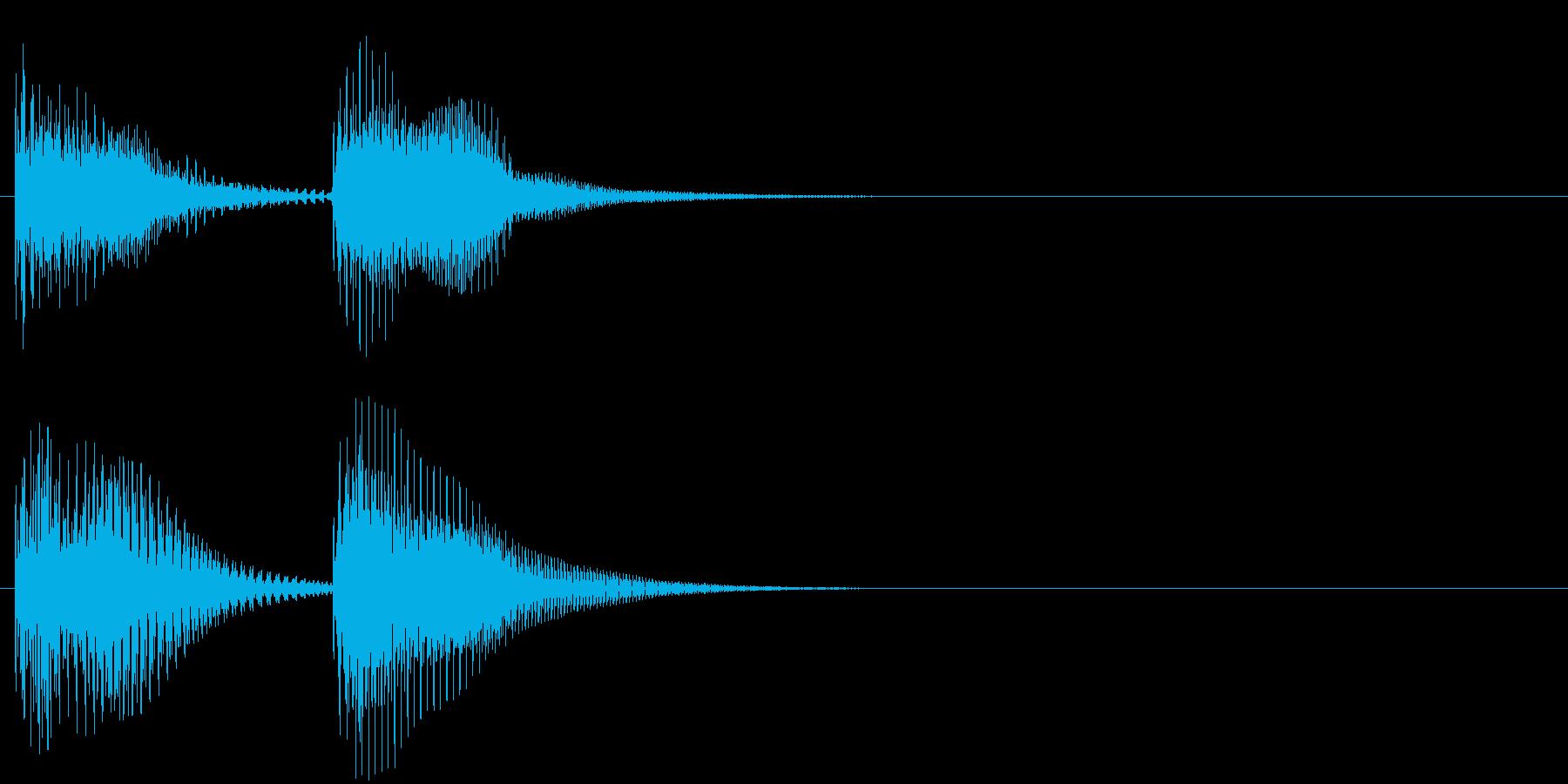 汎用03 チャンチャン(コント落ち)の再生済みの波形