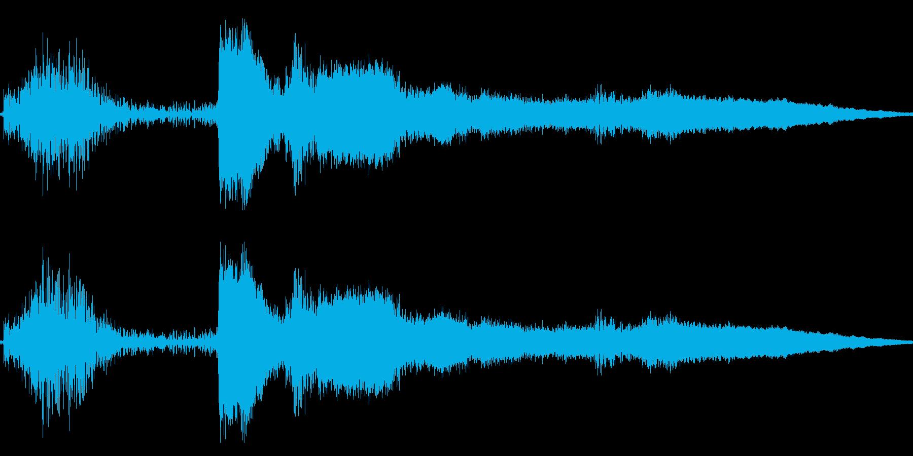 コイン レジ ショップ アイテムゲット4の再生済みの波形