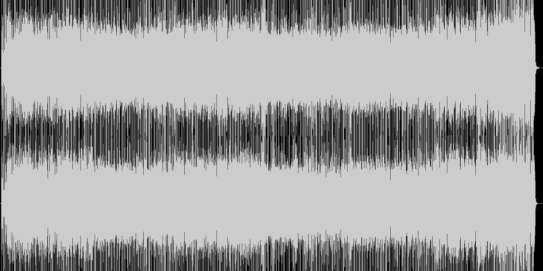 軽快でノリノリのライトフュージョンです。の未再生の波形