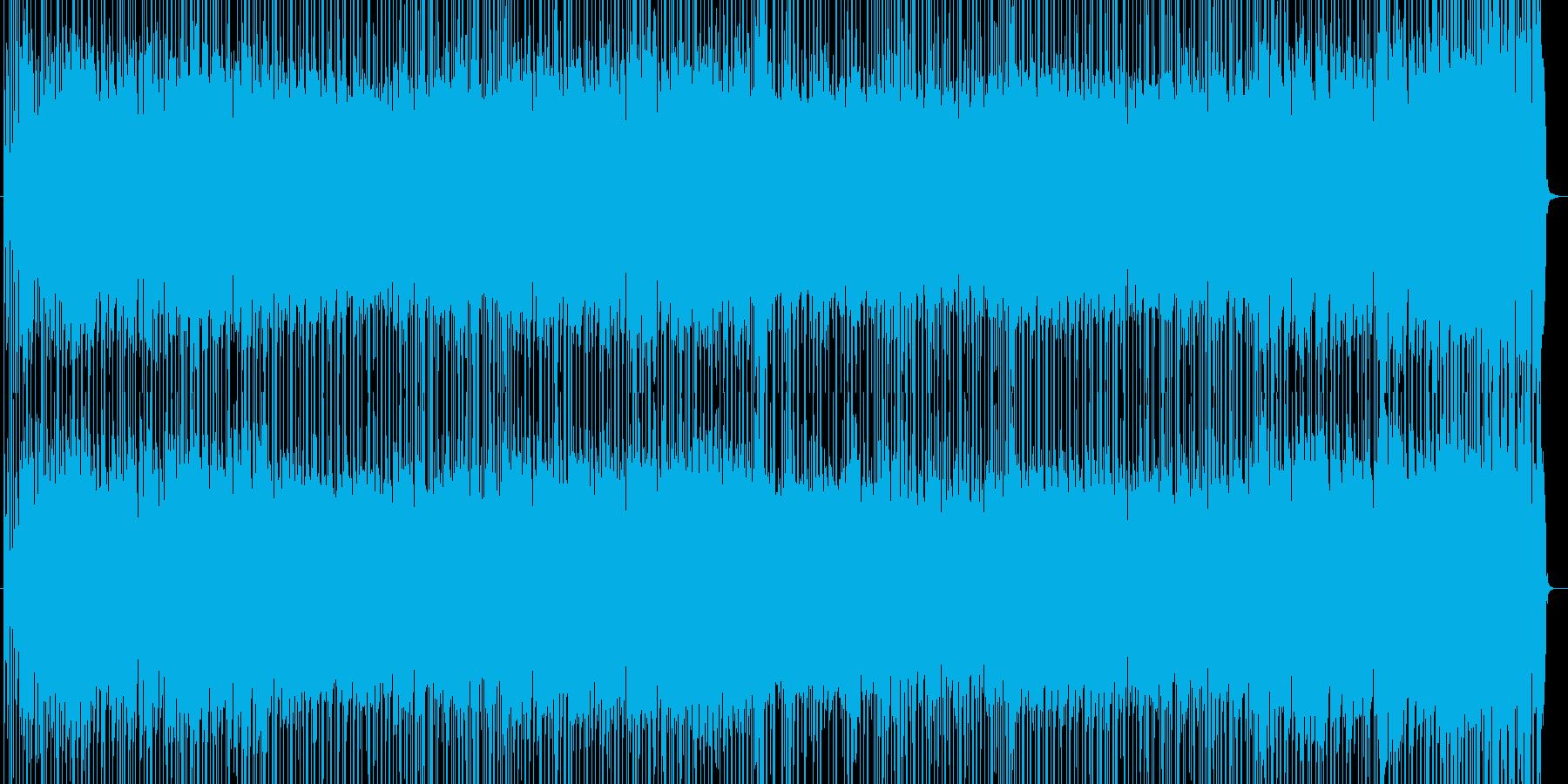 軽快でノリノリのライトフュージョンです。の再生済みの波形
