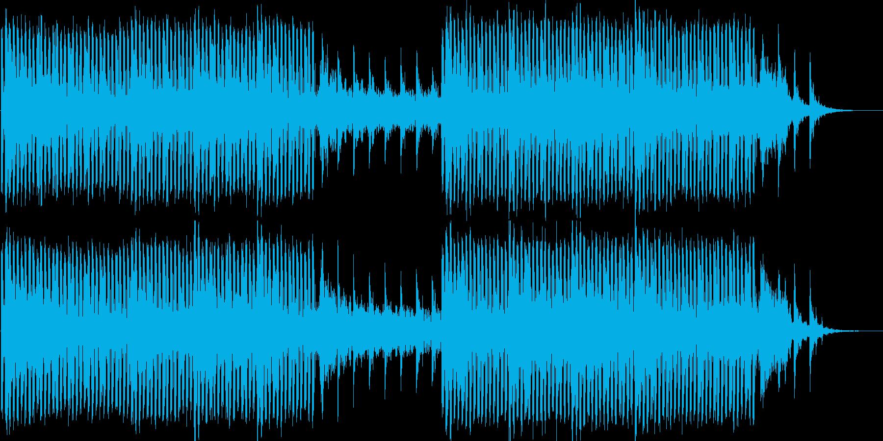 アンビエント系テクノの再生済みの波形
