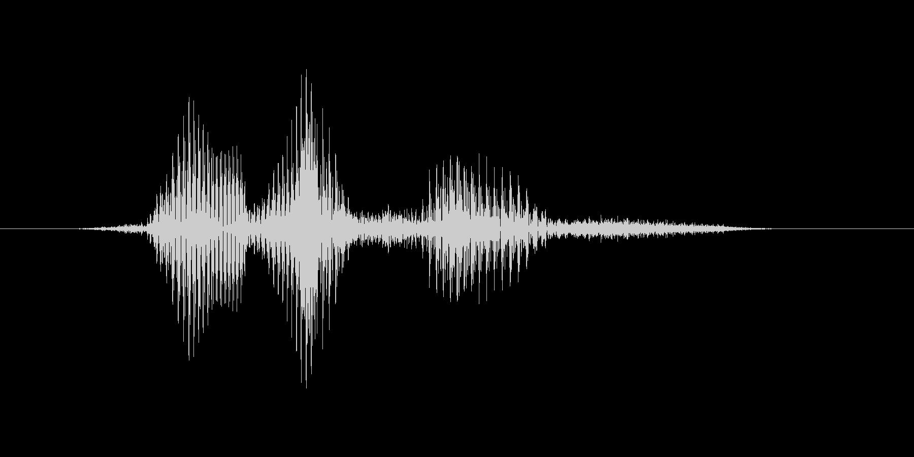 フルハウスの未再生の波形