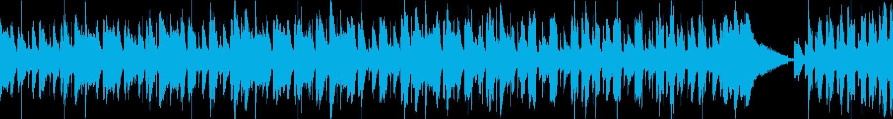 コミカル かわいい ループの再生済みの波形