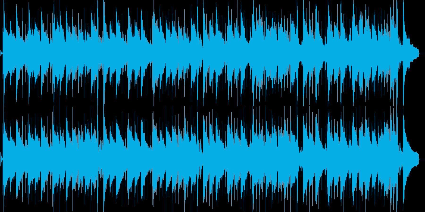 まどろみを感じるギターバラードの再生済みの波形