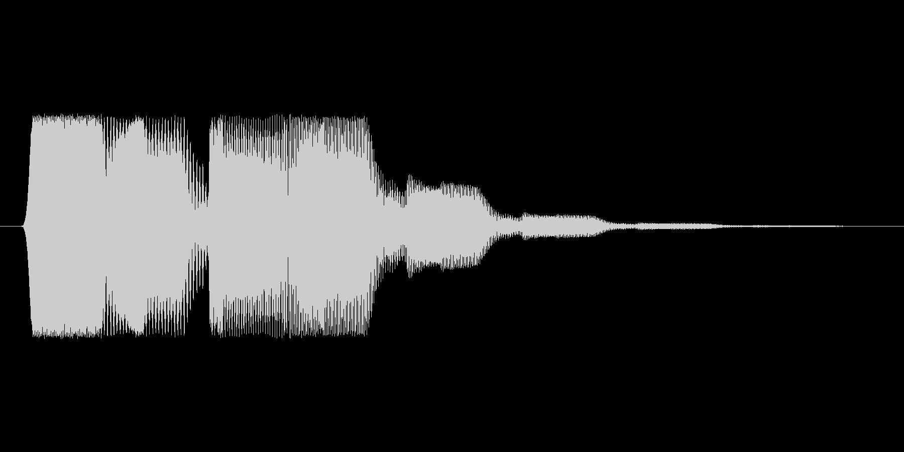 ファミコン風効果音決定音系です 17の未再生の波形
