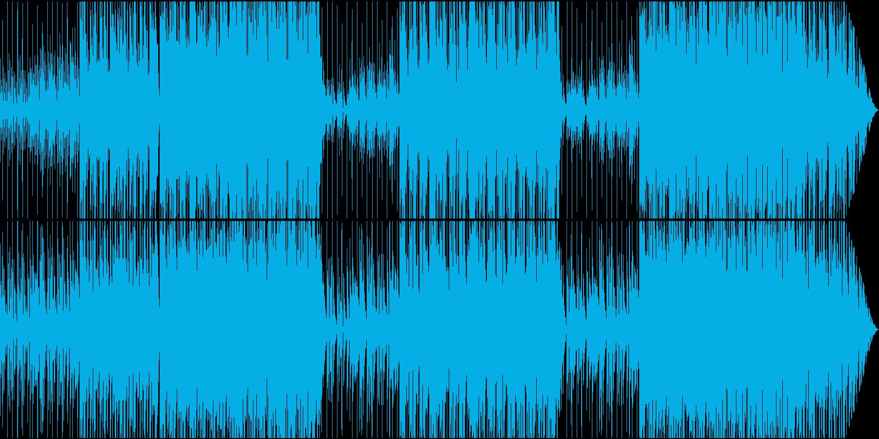 スローなR&B系イージーリスニングの再生済みの波形