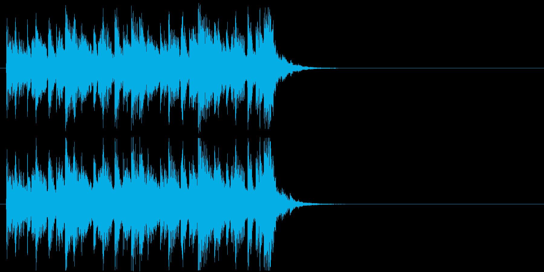 クイズ 楽しい コミカル 登場 テーマの再生済みの波形