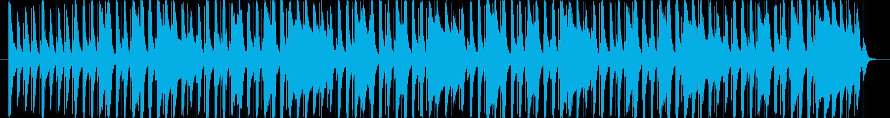 アプリゲームのOP画面をイメージした楽…の再生済みの波形