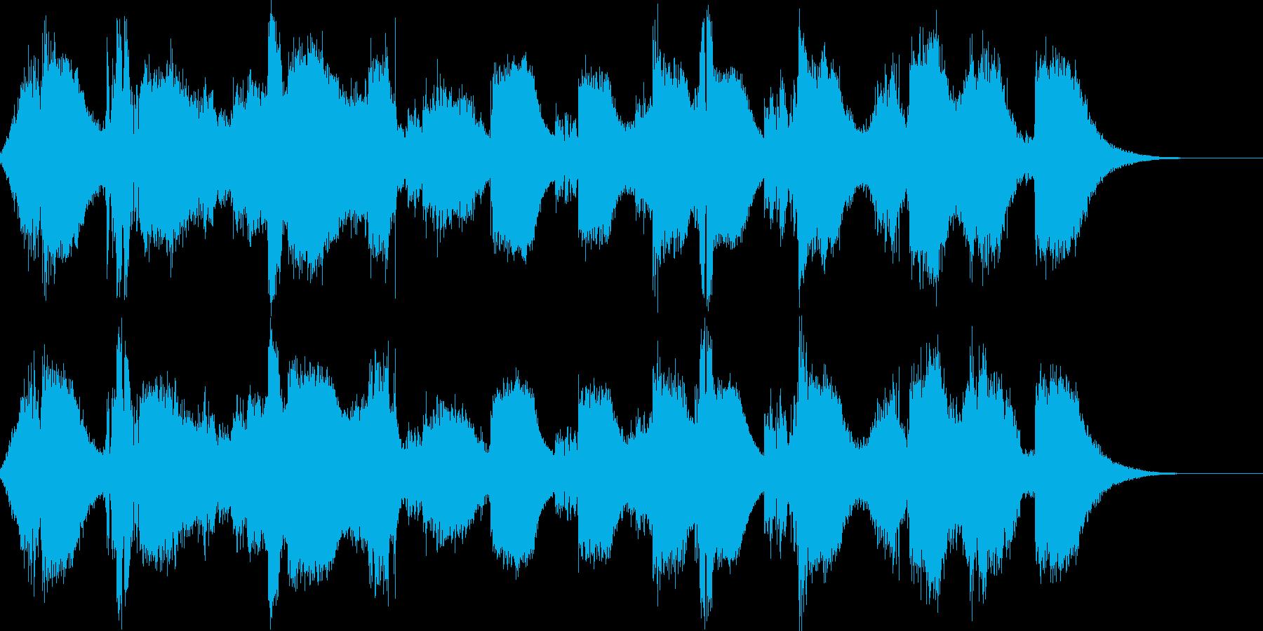 剣の戦い(剣戟)の再生済みの波形