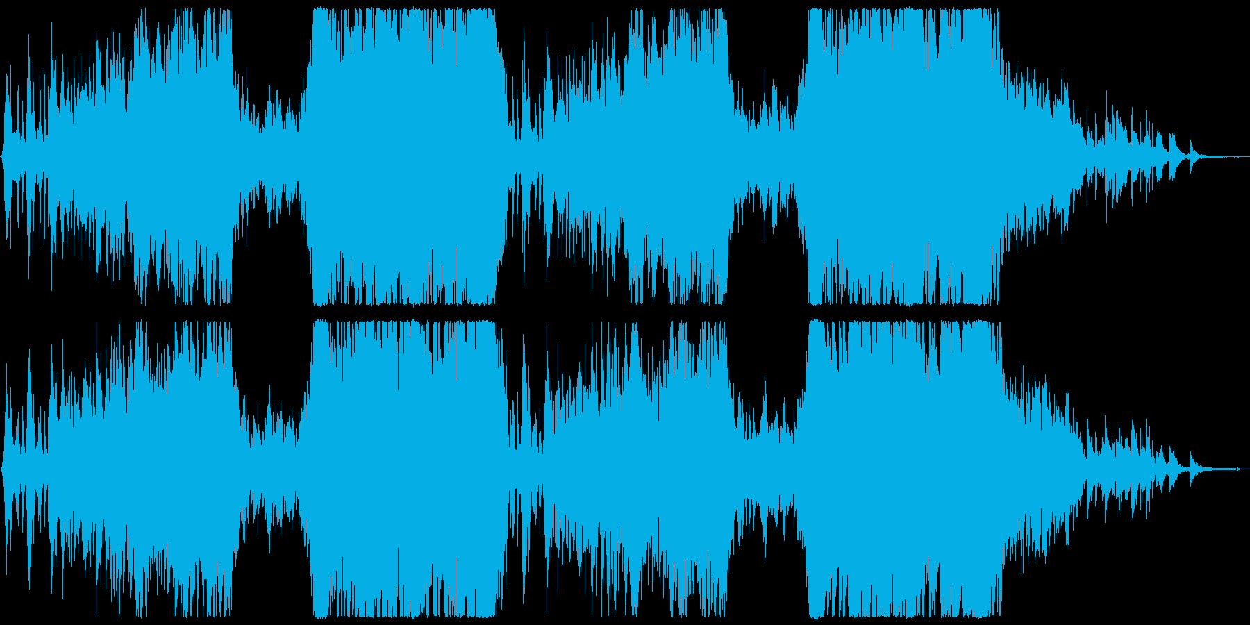 ポジティブな壮大ポップオーケストラの再生済みの波形