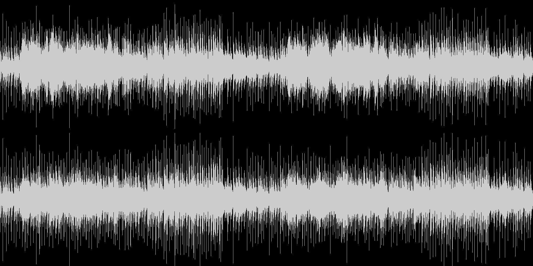 神秘的な雰囲気のループBGMの未再生の波形