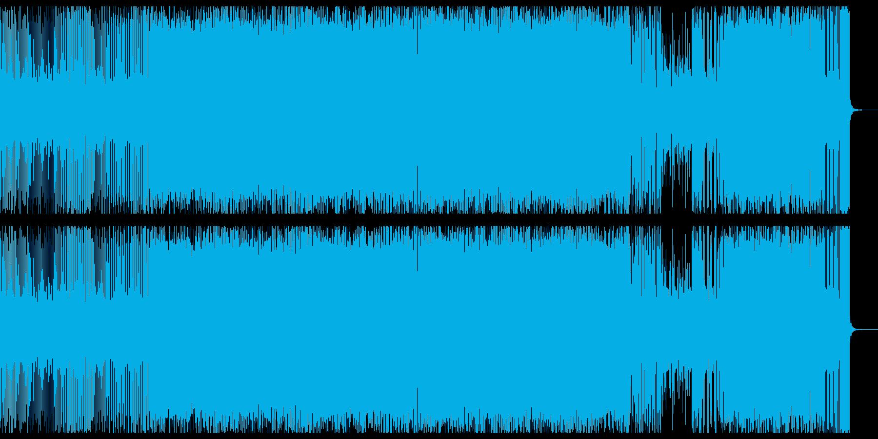 怪しい深海系テックハウスの再生済みの波形