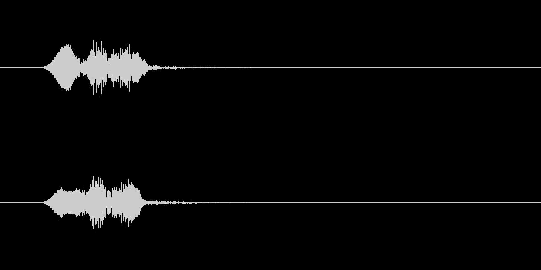 軽快な動作_m0222の未再生の波形