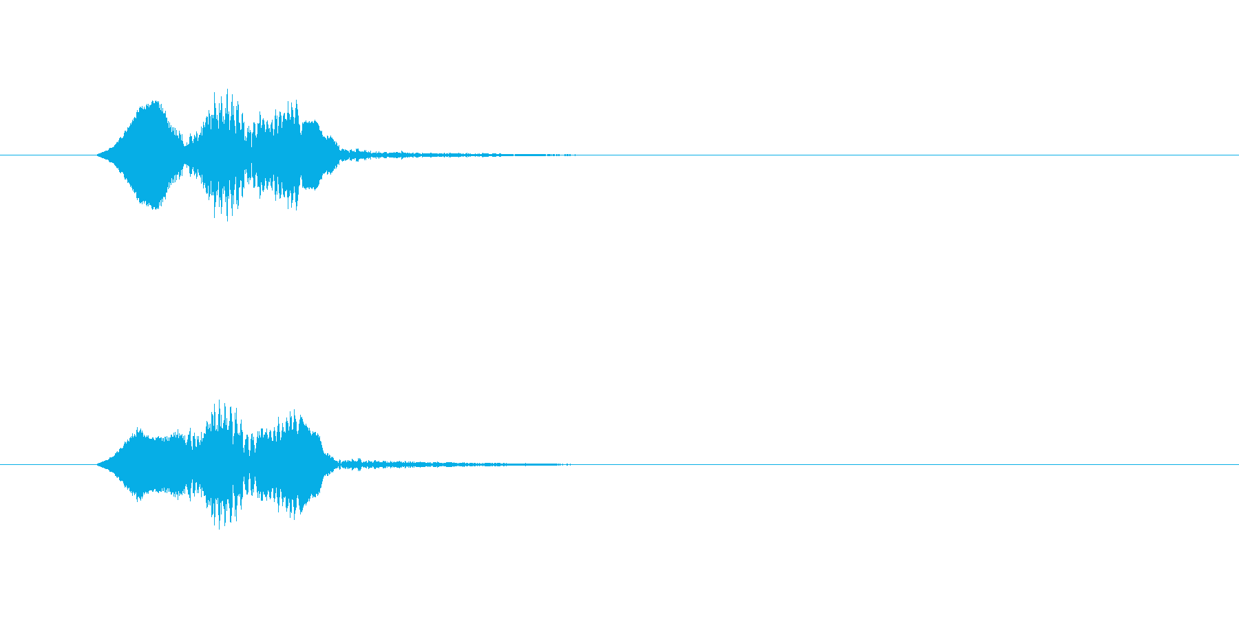 軽快な動作_m0222の再生済みの波形