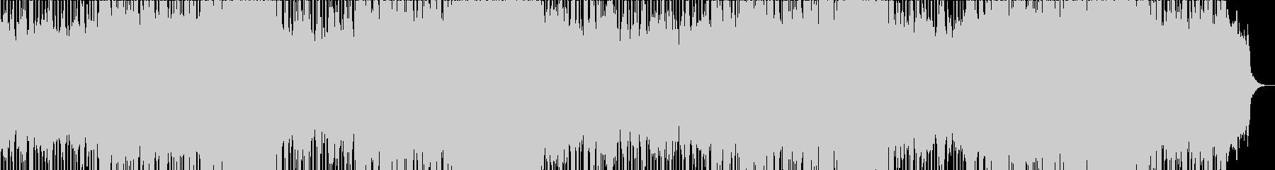 迫力のあるシンセ管楽器ポップテクノ系の未再生の波形