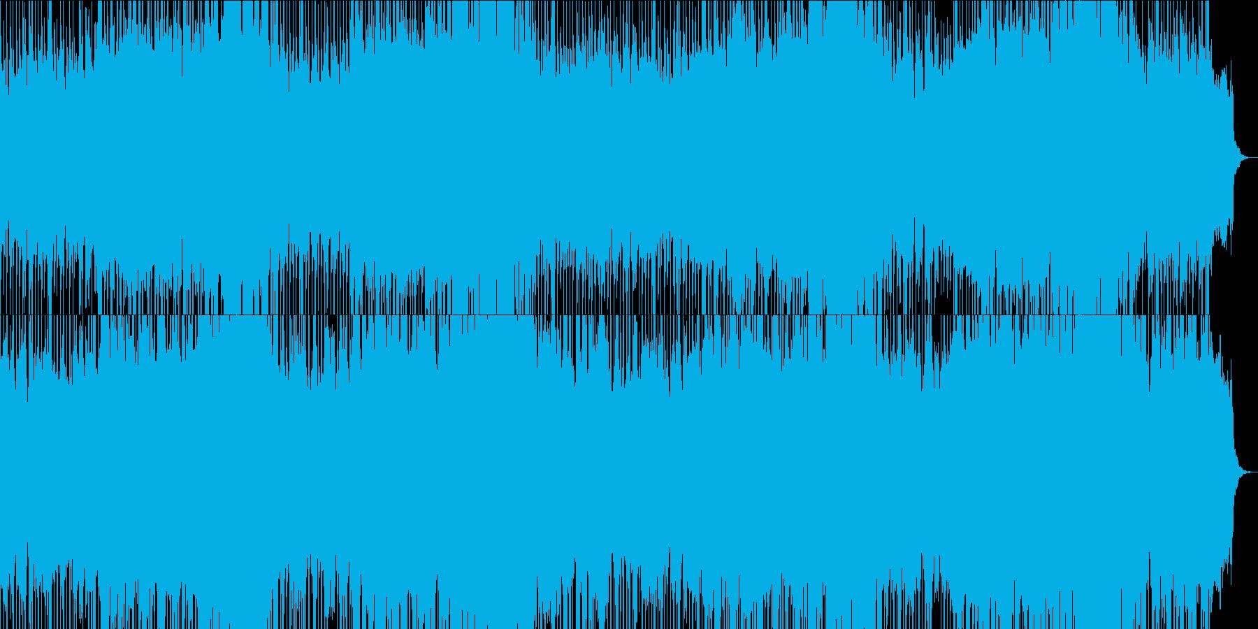 迫力のあるシンセ管楽器ポップテクノ系の再生済みの波形