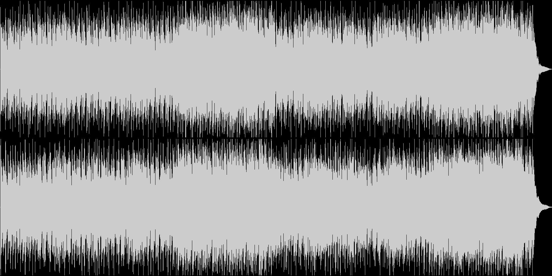 アンデスの迫力ある民族音楽系オリジナルの未再生の波形