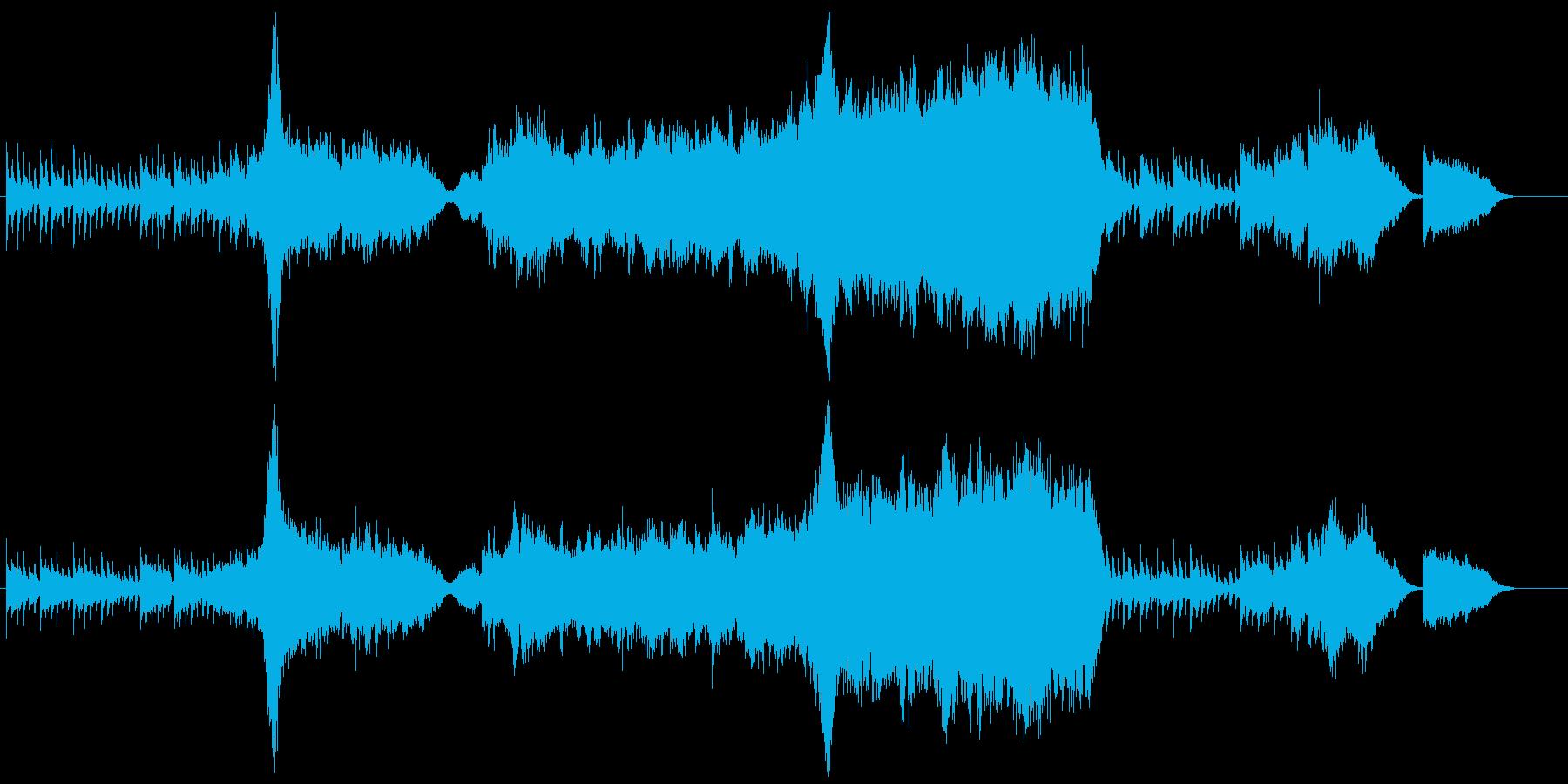 トレーラー(予告編)・ファンタジーの再生済みの波形