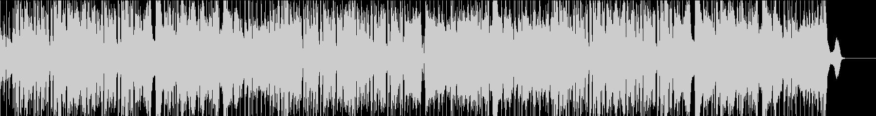 サックスの軽快なジャズ、ファンク の未再生の波形