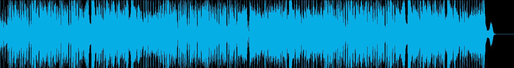 サックスの軽快なジャズ、ファンク の再生済みの波形