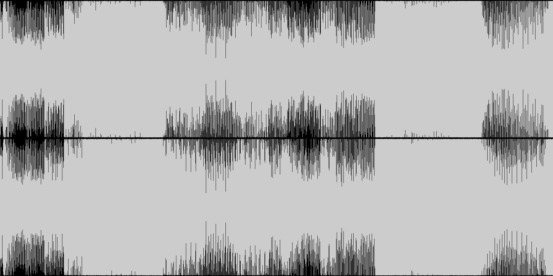 EDM スポーツ オープニング 明るいLの未再生の波形