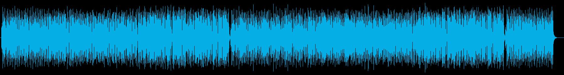 軽快で感動的なストリングスポップの再生済みの波形
