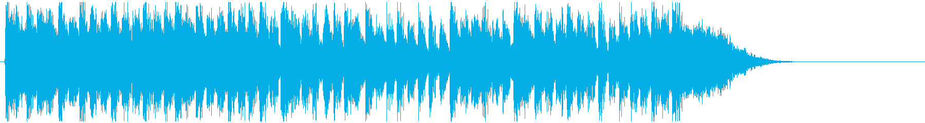デジタル系ドラムンベース◆15秒ジングルの再生済みの波形
