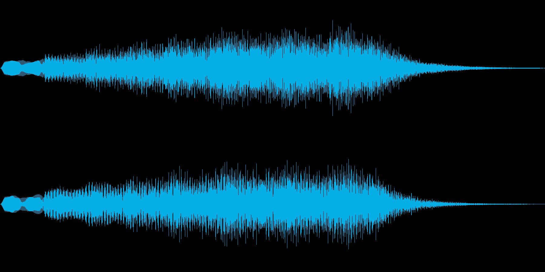 ジングル101jの再生済みの波形