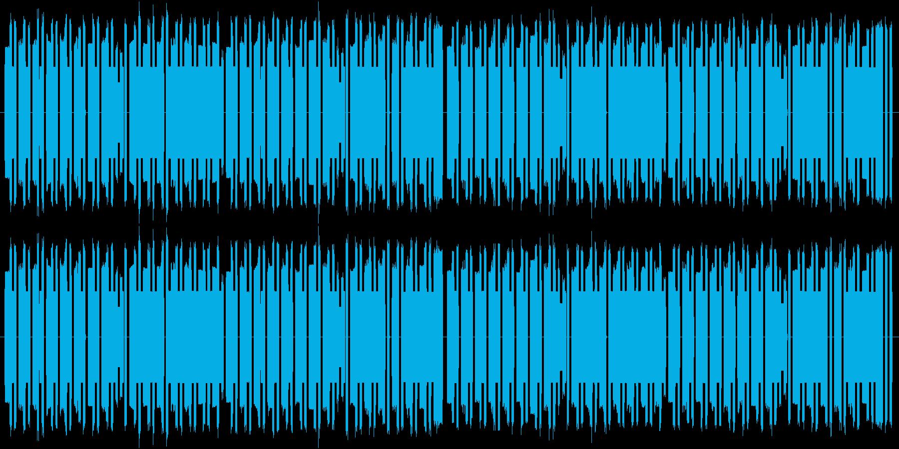 明るく優しい雰囲気の8bitワルツの再生済みの波形