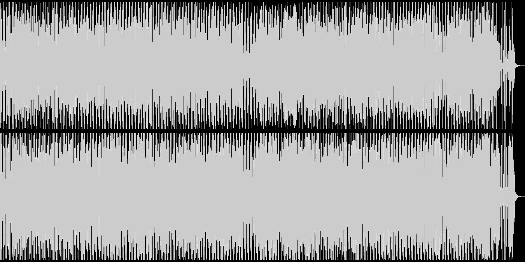ウクレレと縦笛の楽しいBGMおもちゃ抜きの未再生の波形