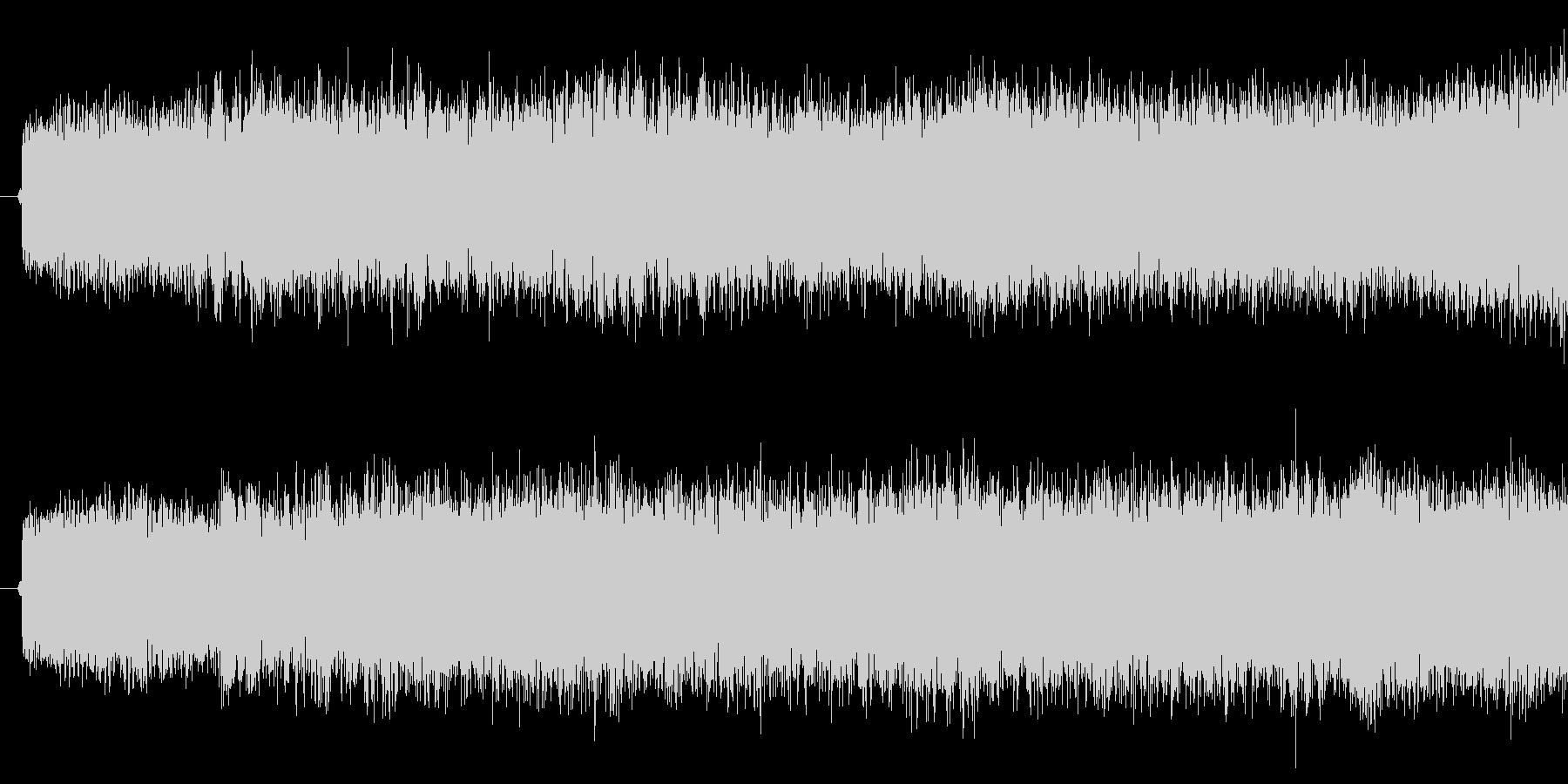 吸い込み音の未再生の波形