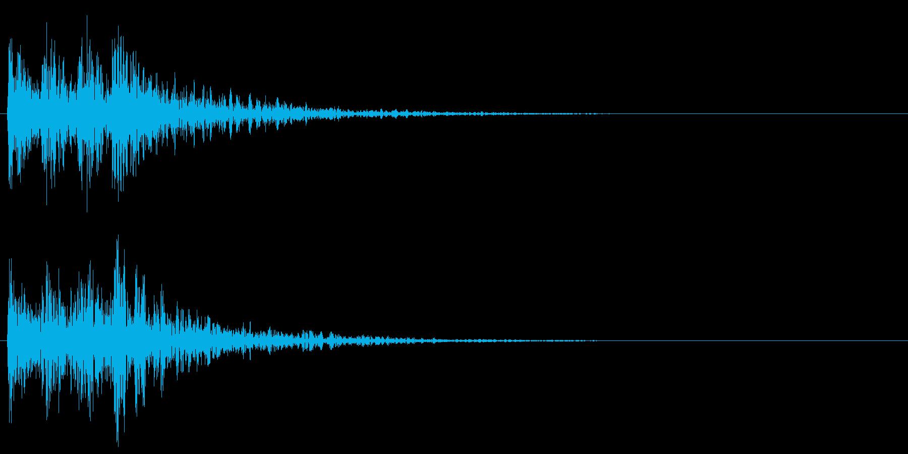 ティンパニとスネアの勇ましい転回音 戦争の再生済みの波形