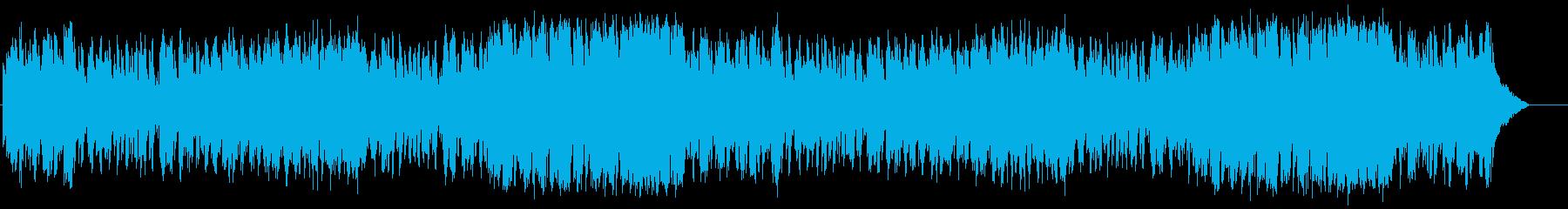 懐かしの歌謡ジャズ風楽曲(フルサイズ)の再生済みの波形