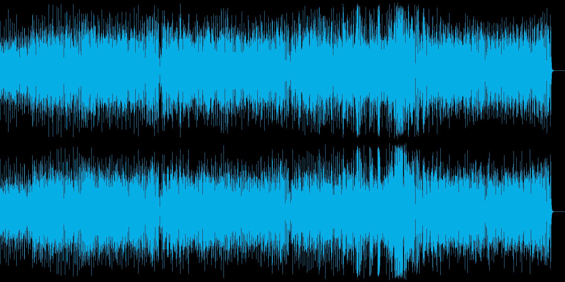 爽やかで明るいポップなボサノバ。CM等にの再生済みの波形