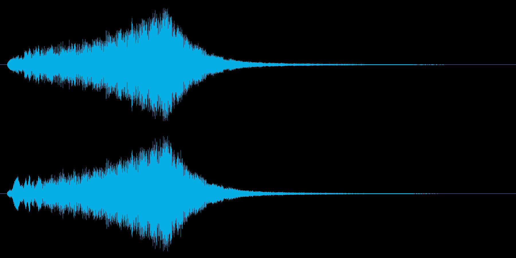 回復/アイテム/キラキラの再生済みの波形