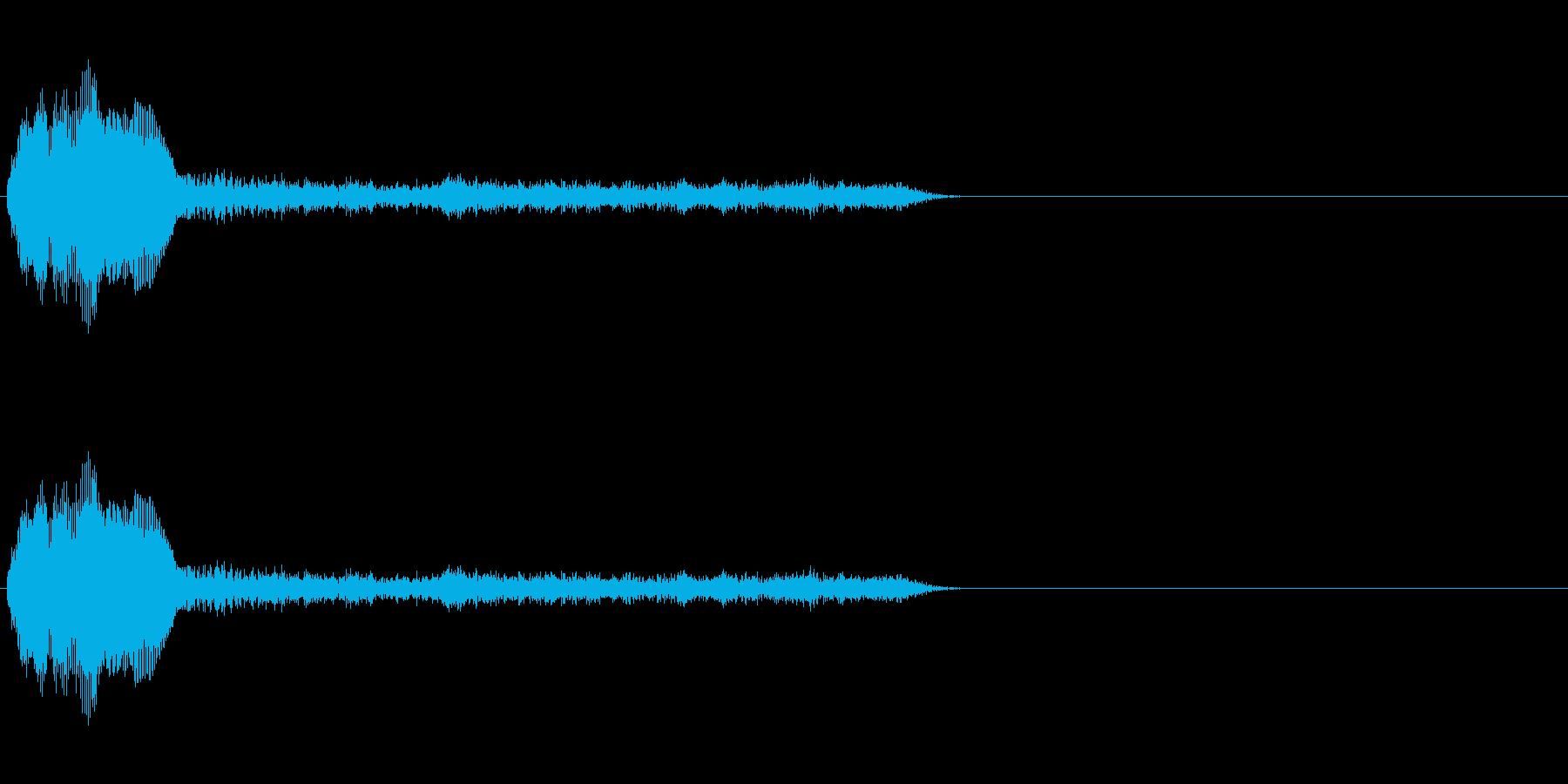 SF系ワンショット(ワギャワギャ)の再生済みの波形