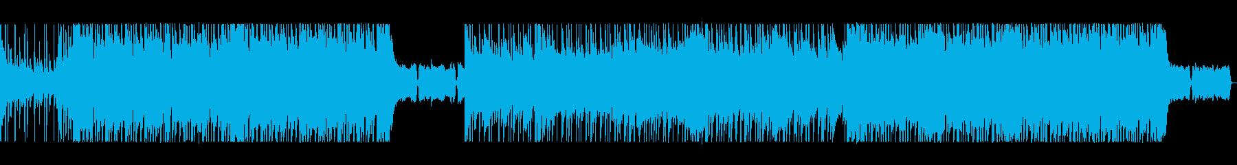 楽しい!弾む!軽快なポップロックの再生済みの波形