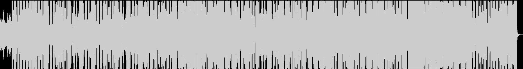 ノリの良いヒップホップ系ポップスの未再生の波形
